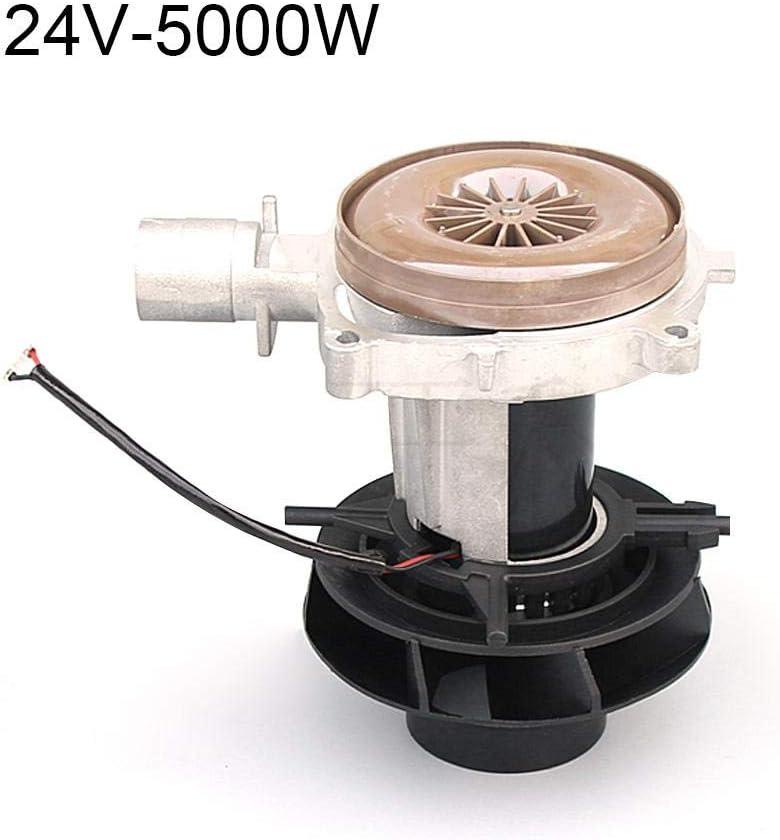 Motor Soplador Para Calefactor De Estacionamiento Hoja Grande Ensamblaje Ventilador De Aire De Combustión Para Eberspacher D4 2KW 5KW 12V 24V Repuestos Para Camiones Air Diesel Diámetro 25 Mm / 0.98 '
