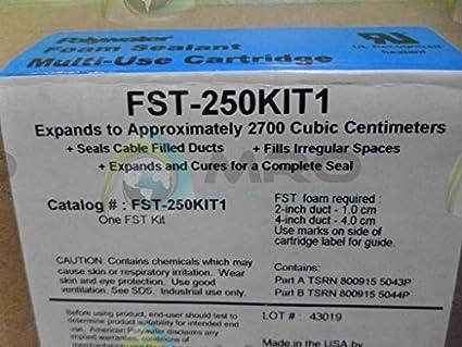 American polywater fst-250kit espuma de poliuretano conducto sellador Kit 8,5 oz láser ámbar resina clara secado agente: Amazon.es: Amazon.es