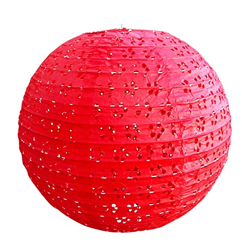 Quasimoon-12-Round-Eyelet-Lace-Look-Paper-Lantern-Red-by-PaperLanternStore