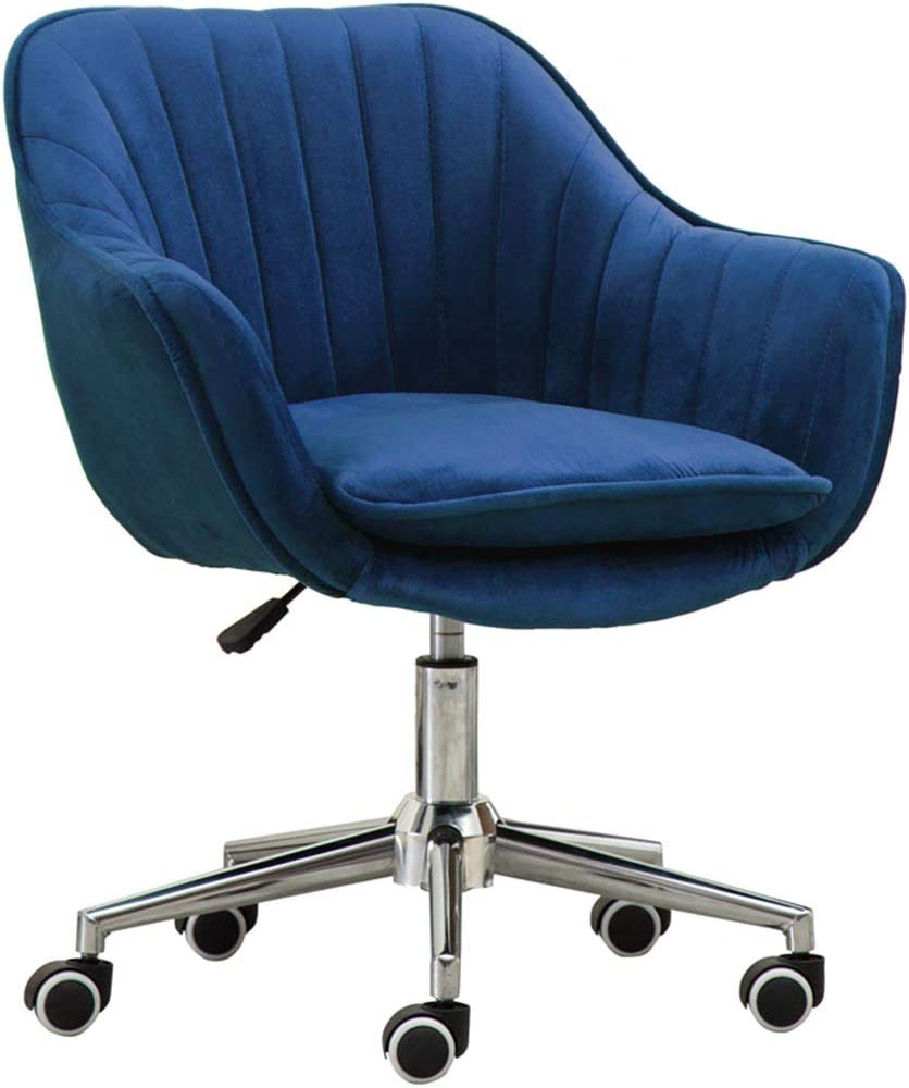 Amazon.com: Fubas- Velvet Office Chair, High-Density Sponge Lounge