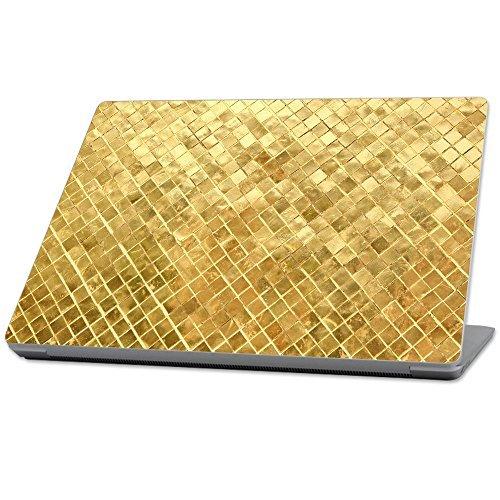 (訳ありセール 格安) MightySkins Protective (2017) Skin Vinyl Durable and Unique Vinyl wrap cover Skin for Microsoft Surface Laptop (2017) 13.3 - Gold Tiles Tan (MISURLAP-Gold Tiles) [並行輸入品] B07897YCG2, 書道用品専門店廣悦堂:33d17efd --- senas.4x4.lt