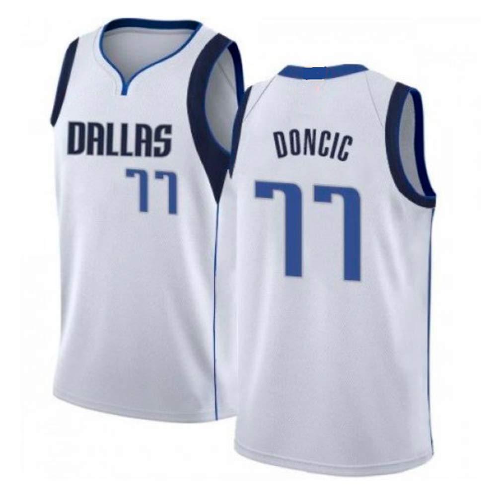 Ruimei Camiseta de Baloncesto de Los Hombres Luka Doncic Dallas ...