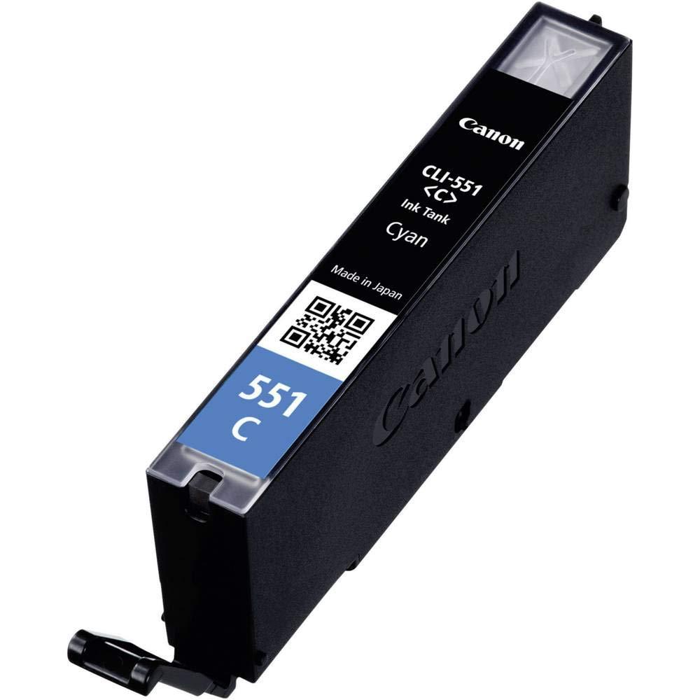 Emballage carton Canon CLI-551 Cartouche C Cyan