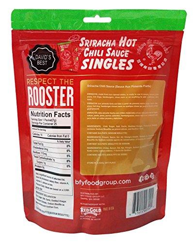 Sriracha Hot Chili Sauce Travel Pack (25 packets)