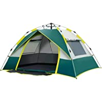 Joochoo Family Outdoors Tent, Waterproof Camping, Instant Automatic Pop-up Design, Travel Hiking Beach Tent, Anti-UV…