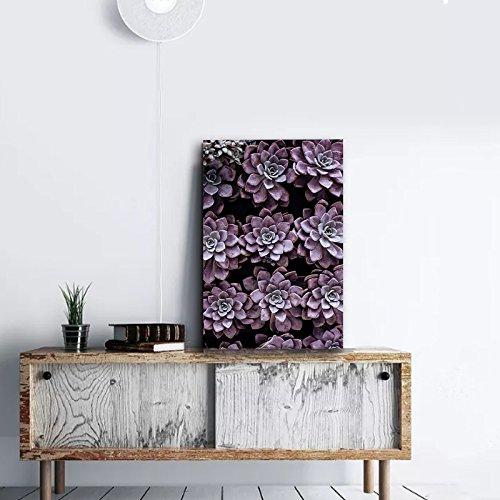 Purple Succulent Pots