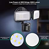 LED Security Lights, 28W 3000LM Motion Sensor Light