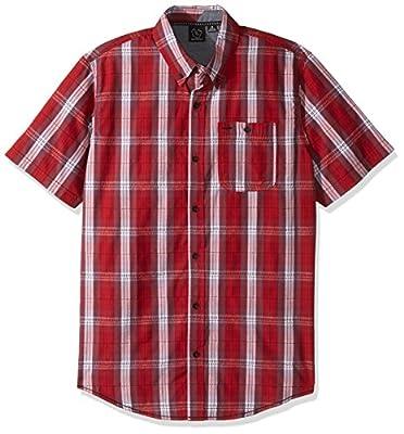 Burnside Men's Follow Texture Short Sleeve Shirt