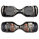 MightySkins Skin Compatible with Swagtron T1 Hover Board Self Balancing Smart Scooter wrap Cover Sticker Skins Deer Hunter