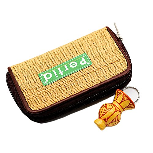 Pertid Kok Mat Change Coin Purse Wallet Bag Gift with Zip and Liner And Key Chain Pottery Vase Made Earthenware Famous Handicrafts