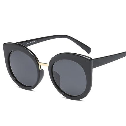 ANHPI Gafas De Sol Polarizadas Mujeres Ronda Marco Visor Comfort UV Gafas De Sol Ojo De