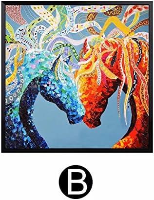 馬 おしゃれ ギフト アートパネル 画 絵画 壁掛け 現代 おしゃれ ギフト モダン アート インテリア 絵画 壁掛け 現代 飾り シンプル リビング 贈答品 SFANY
