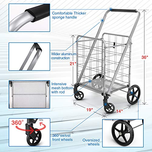 Buy shopping trolley foldable