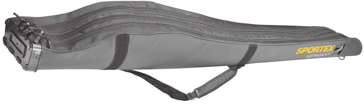 Sportex Rutentasche SuperSafe 150 cm//3 F/ächer grau