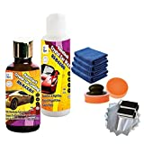 Rising Star CC0108 Nanotech Crystal Car Coating 100mL Kit plus Car Wax Paste 125mL Kit