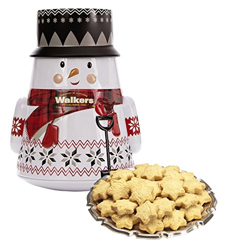 Snowman Cookie Tin (Walkers Shortbread Snowman Tin, 7.0 Ounce)