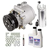 New AC Compressor & Clutch With Complete A/C Repair Kit For Ford Explorer - BuyAutoParts 60-80182RK New