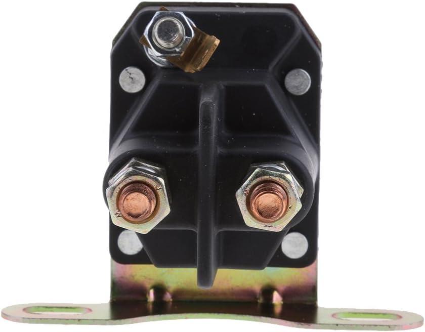 LOVIVER Starter Magnetschalter 3 Anschl/üsse 12 V