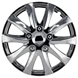 Alpena 58316 Chrome Wheel Cover Kit - 16-Inch - Pack of 4