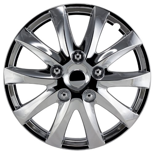 Alpena 58316 Chrome Wheel Cover Kit - 16-Inch - Pack of 4 (Alpena Hubcaps compare prices)