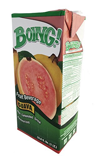 Price comparison product image Boing Guava Fruit Beverage Pack of 5