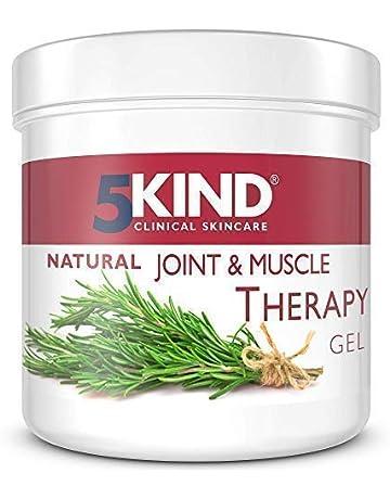 5Kind gel calmante del dolor de Músculos y Articulaciones Antiinflamatorio con resultados demostrados Fórmula única Penetra