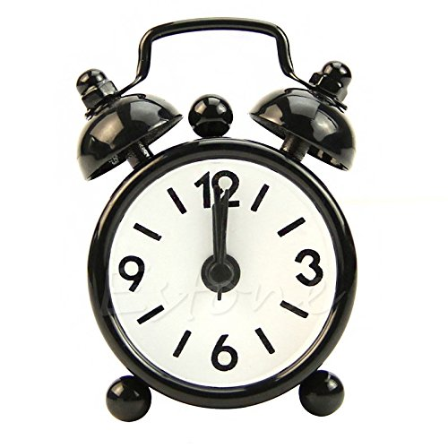 Pc Movement Round Dial (Popular Dial Number Round Desk Alarm Clock For House Decoration)