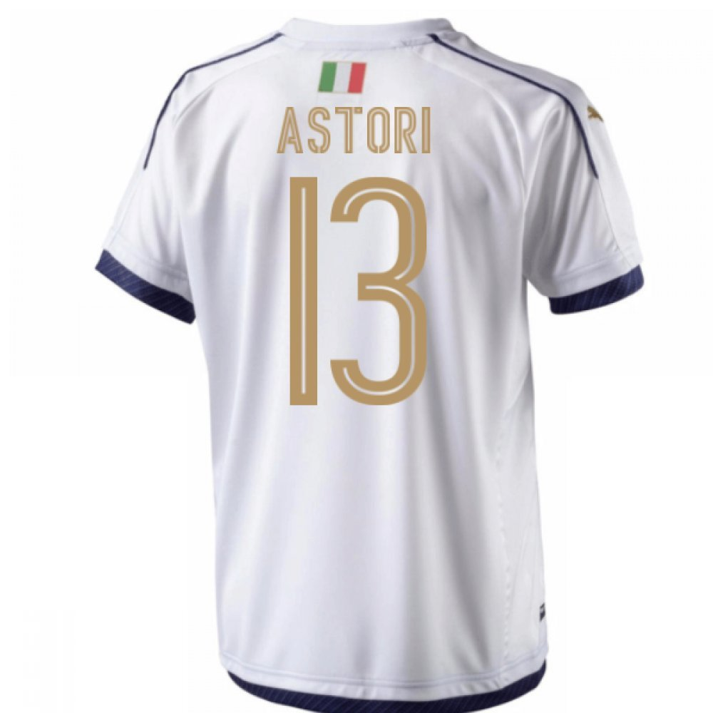 2006  Tribute Away Football Soccer T-Shirt Trikot (Davide Astori 13)