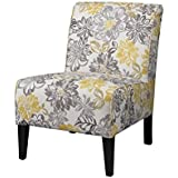 Exceptionnel Atlin Designs Bridey Accent Chair In Yellow And Gray