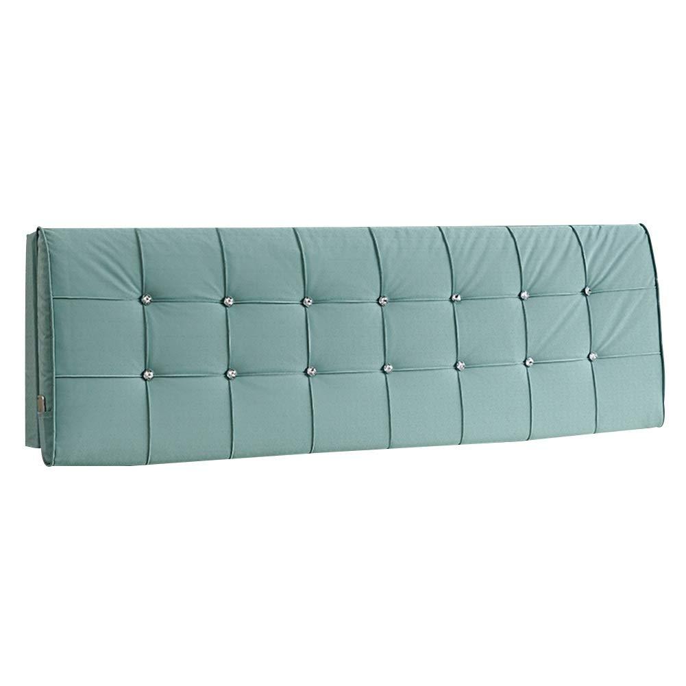 HAIPENG クッション ベッドの背もたれ 柔らかい 読み物 背もたれ クッション にとって ベッド ヘッドボード ヘッドレスト 枕 強化する ポジショニング サポート 布張り、 5色 (色 : A, サイズ さいず : 120x11x60cm) B07QWLDXQB A 120x11x60cm