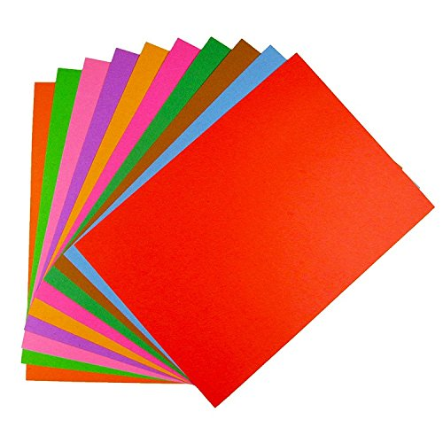 Wisdom Album (Good Quality Color Cardboard Children's Art Of Paper Folding Cutting Craft Wisdom Tree Diy Cards Handmade Album A4)