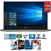 Dell XPS9360-1718SLV 13.3 Laptop (Intel Core i5, 8GB RAM, 128 GB SSD, Windows 10) + Elite Suite 17 Standard Software Bundle (Corel WordPerfect, WinZip, PDF Fusion, X9) + 1 Year Extended Warranty
