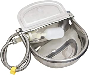 MODUODUO Automatic Water Trough Dog Feeder Bowl with 39
