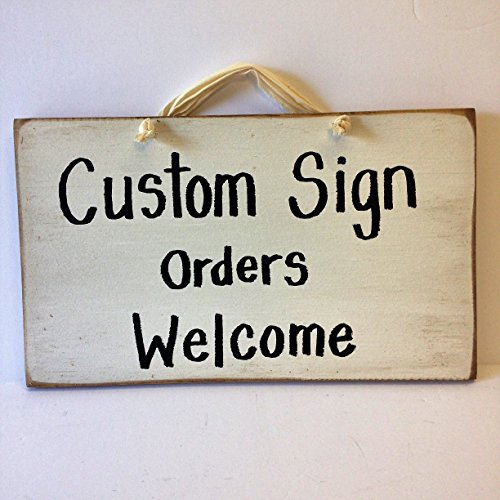 Sign Custom Address Plaque (Custom sign wood personalized)