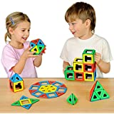 Polydron 50-1010 Magnetic Class Set (Pack of 96)