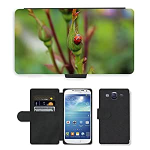 PU LEATHER case coque housse smartphone Flip bag Cover protection // M00114151 Mariquita del insecto del insecto Red // Samsung Galaxy S3 S III SIII i9300
