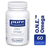 Pure Encapsulations - O.N.E. Omega - Fish Oil Capsules to Support Cardiovascular, Joint, Cognitive, and Skin Health* - 60 Softgel Capsules