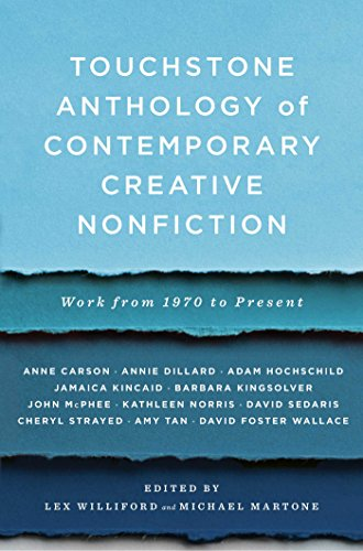 Touchstone Anthology of Contemporary Creative Nonfiction: Work
