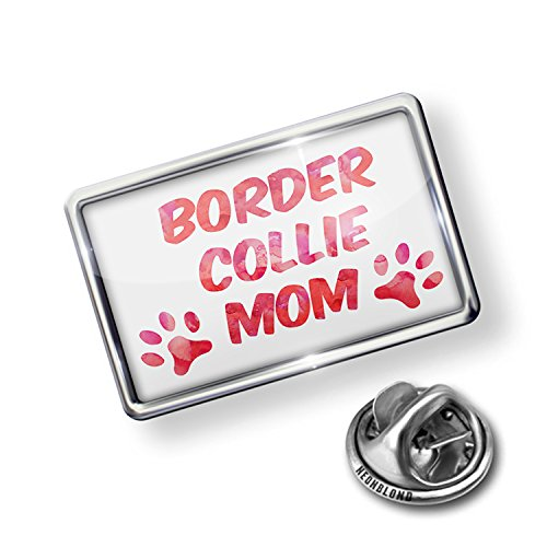 Pin Dog & Cat Mom Border Collie - NEONBLOND - Border Collie Pin