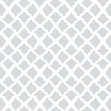 Con-Tact Brand Creative Covering Self-Adhesive Vinyl Shelf and Drawer Liner, 18-Inchx20-Feet, Talisman Glacier Gray