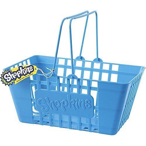 Shopkins Life Sized ( 12 Inch ) Blue Shopping Storage Basket