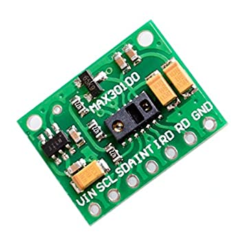 MAX30100 Pulse Oximeter Heart Rate Sensor Module Compatible for Arduino