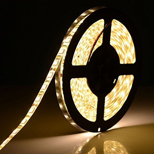 5M SMD 5050 RGB LED Strip Waterproof 300 LEDs warm white US by ANNT