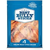 Best Bully Sticks USA Pig Ears (20 Pack) Thick-Cut, All Natural Dog Treats