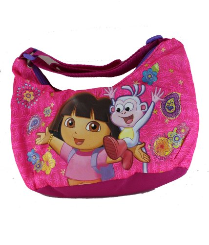 - Nickelodeon Pink Dora The Explorer Purse with Adjustable Strap
