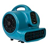 induction blower motor - Xpower X-430 1/3 HP 2000 CFM Air Mover & Dryer with Timer and Filter
