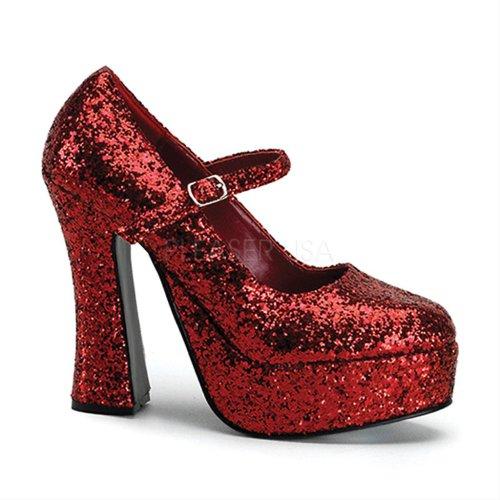 Dolly Di Rosso Colore Donne Delle Pleaser Pompa 50 gOwaU