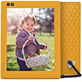 Nixplay Seed 8 Inch WiFi Cloud Digital Photo Frame with IPS Display, iPhone & Android App, Free 10GB Online Storage and Motion Sensor (Mango)