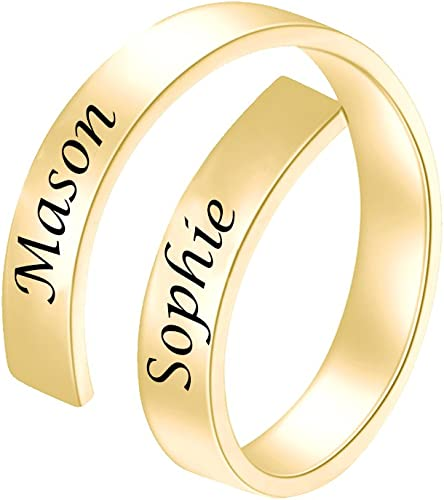 Personalized Name Ring with Sterling Silver Special Name