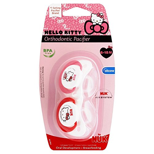 Amazon.com : Hello Kitty Tirador Chupete, 6-18 Meses : Baby